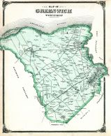 Greenwich Township, Salem and Gloucester Counties 1876